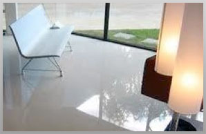 Poured Floors - Polished Concrete - Liquid Vinyl Comfort Floors